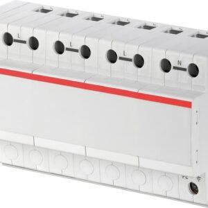 Protector de sobretensiones, número de serie 2CTB815101R0700. Dispositivos de protección contra cortocircuitos:Interruptores de curva B ≤ 125 A.
