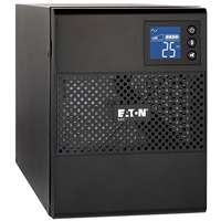 UPS EATON con capacidad de 1500V/1080W, modelo 5SC1500. Software de EATON Intelligent power manager en CD, cable USB, Serial Cable (RJ45 to DB9).