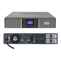 UPS on line, marca EATON, serie 9PX con capacidad de 1500VA/1350W, número de serie 9PX1500RT. Diagnóstico Autocomprobación completa del sistema al encender.