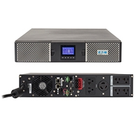 UPS on line marca EATON modelo 9PX con capacidad de 2000VA/1800W, número de serie 9PX2000RT. MiniSlot + 1 puerto USB + 1 puerto serie RS232.