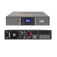 UPS marca EATON, modelo 9PX con capacidad de 2200VA/2000W, número de serie 9PX2200GRT. COMUNICACIÓN MiniSlot + 1 puerto USB + 1 puerto serie RS232
