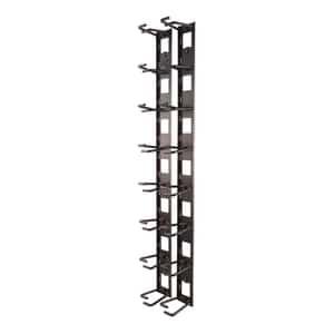 Organizador de cables vertical, 8 abrazaderas para cables, AR8442. Nombre de Marca de APC by Schneider Electric, guía de cable...