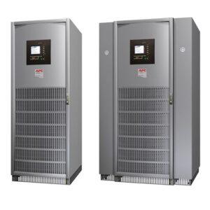 UPS MGE Galaxy 5000 con capacidad 60 kVA, número de serie G5TUPS60. Frecuencia de salida (no sincronizada) 60Hz +/- 0,1% para 60Hz nominales.