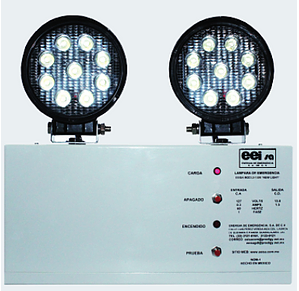 Lámpara de emergencia industrial LU-1 55W New Light