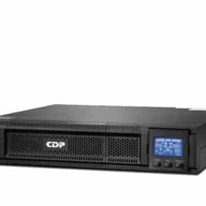 UPS marca CDP Online con capacidad de 2 KVA/1800W, modelo UPO11-2RT AX. Voltaje de 120 Vca y diseñado para soportar el software de Windows 98/2000/2003/XP/Vista/2008/7, Linux,Unix y Mac